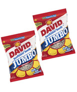 Roased & Salted JUMBO 2 Pack 16 OZ David's SUNFLOWER SEEDS Baseball Nuts... - $21.96