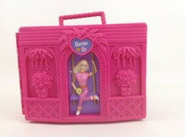 Barbie Doll Trunk Garden Swingset Carry Case Mattel Vintage 1999 Accesso... - $18.76