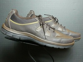 Men's Rockport Brown Oiled Leather Casual Walking Oxford Sz. 13 MINTY! - $45.13