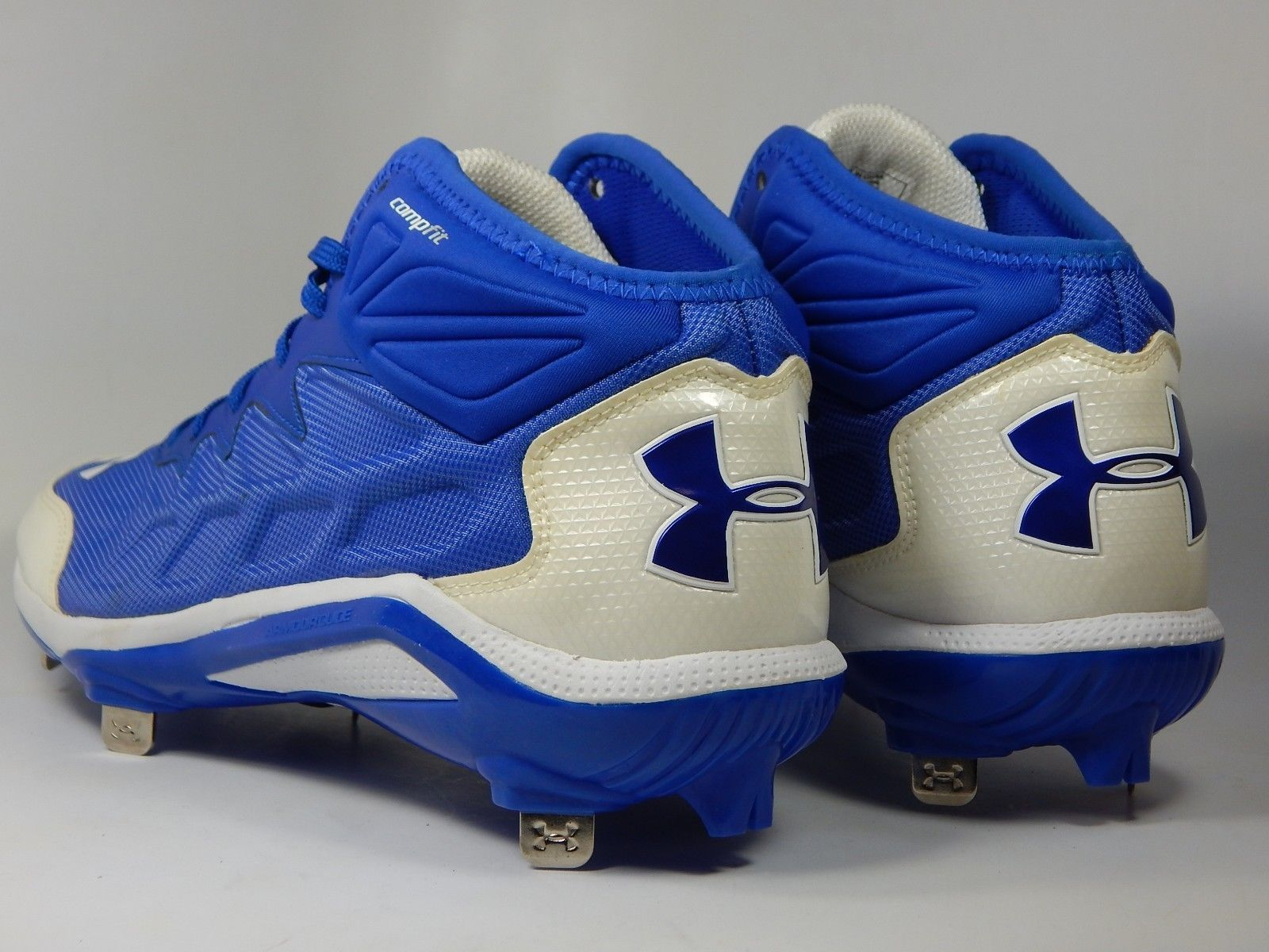 Under Armour Heater ST Mid Top Size 13 M Metal Baseball Cleats 1248197-411