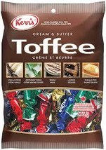 Kerr's Cream & Butter Toffee 5 Different Flavours 10 bags x 175g each Ca... - $69.99