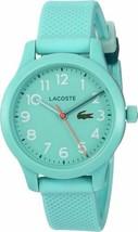 Lacoste Kids' TR90 Quartz Watch with Rubber Strap, Blue, 14 (Model: 2030005) - $51.43