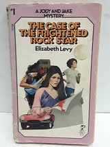 The Case of the Frightened Rock Star by Elizabeth Levy - $5.30