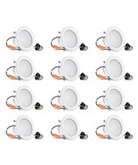 Hyperikon 4 Inch LED Recessed Lighting Dimmable Downlight, 9W (65W Equiv... - $118.59