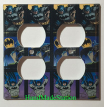Batman Comics USPS Stamps Light Switch Power Outlet Wall Cover Plate Home decor image 6