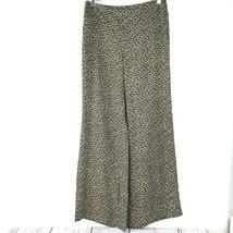 Ann Taylor Loft Kate Wide Leg Pants Size 4 Brown  - $26.77