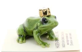 Hagen-Renaker Miniature Ceramic Frog Figurine Birthstone Prince 10 October Opal image 2