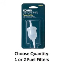 "Carded OEM Kohler Fuel Filter 25-050-22-S1, 2505022S1, 51 Micron, 1/4"" ID - $9.71+"
