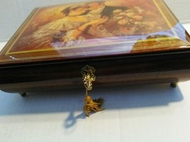 Stunning  Wooden Music Box - Let  Me Call You Sweetheart - Swiss Made - $35.63