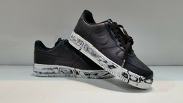 Nike Air Force Men's Black/White 1 '07 LV8 Leather Shoes Size 7.5 - $84.85