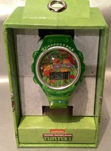 Teenage Mutant Ninja Turtles Flashing Lights Kid's LCD Watch - cowabunga Time! - $19.94