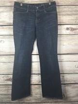 Gap Curvy Women's Jeans Size 10R Stretch Dark Wash - $12.19