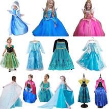 Hot La muchacha del niño Costume Cosplay Princess Party Dresses - $8.99