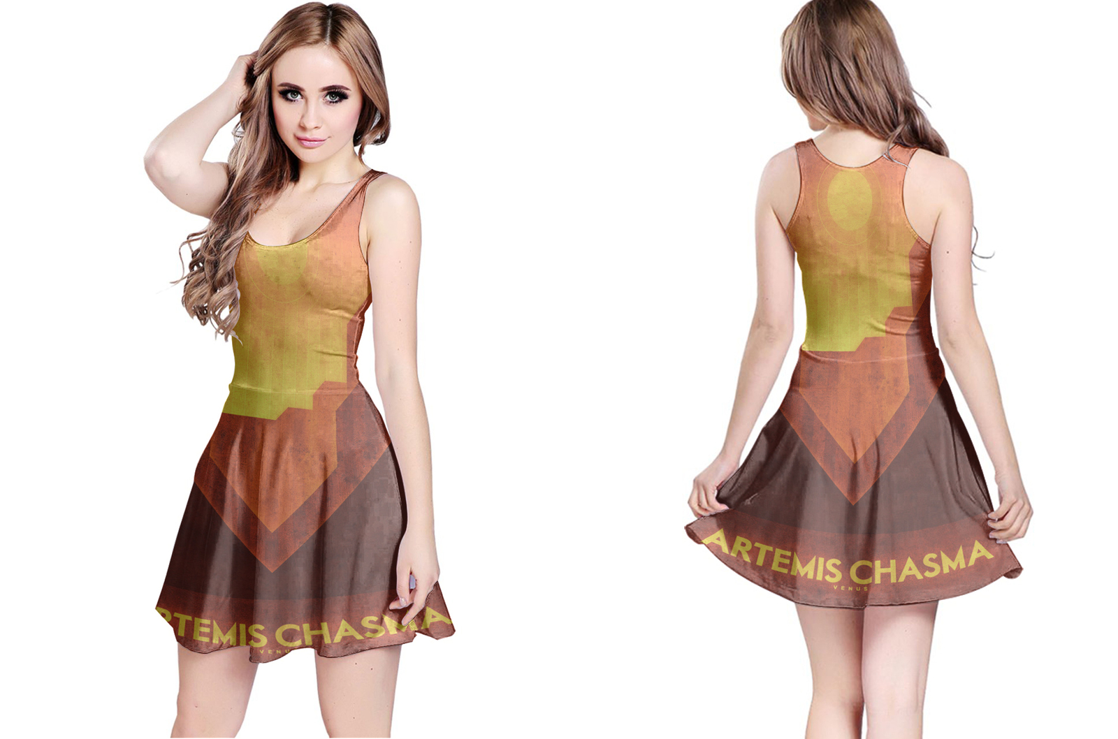 Venus artemis chasma reversible dress