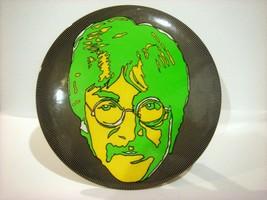 "LAST ONE! Psychedelic Beatles John Lennon LARGE 6"" Diam. Pin-Back Button... - $12.19"