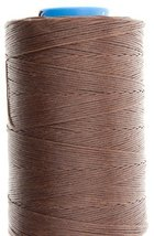 1.2mm Mid Brown Ritza 25 Tiger Wax Thread For Hand Sewing. 25 - 125m length (75m - $17.64