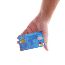 Amazing Floating Credit Card Close Up Magic Props Trick Magician - One Item