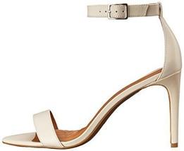 New Womens 10 Ralph Lauren Heels Shoes Off White Sandal Open toe Leather... - $81.00