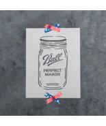 Mason Jar Stencil - Durable & Reusable Mylar Stencils - $5.99+