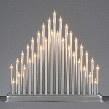 Modern 33 Light Candle Bridge Arch Christmas Xmas Window Table Decoratio... - $21.37