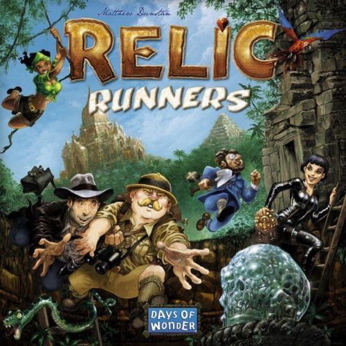 Relic Runners Board Game [New] Days of Wonder