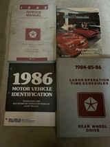 1986 dodge ramcharger truck dw 150 250 350 service shop repair manual set l - $98.94