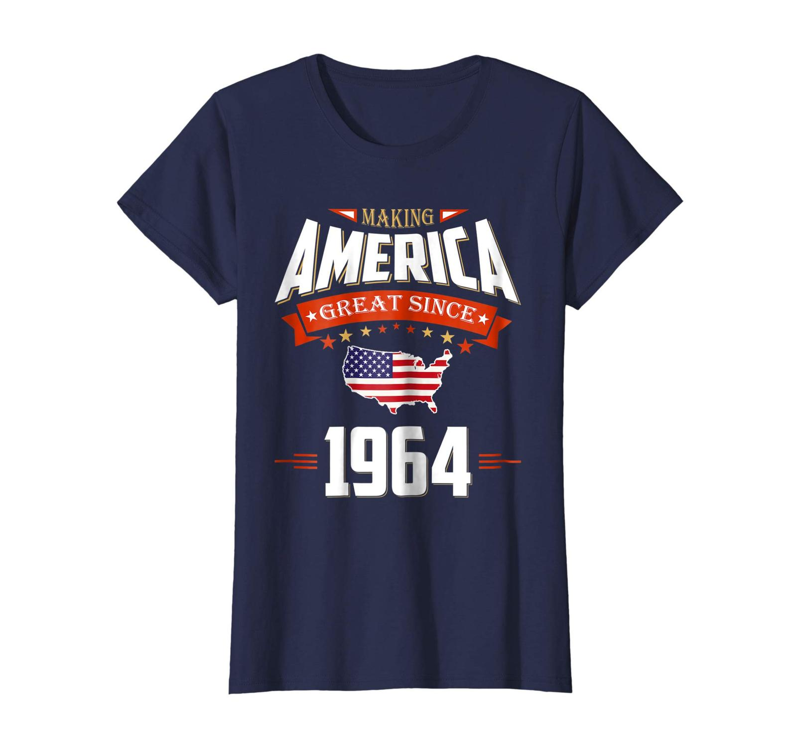 Brother Shirts - 1964 Vintage Funny 54th Birthday Gift Shirt For Him or Her Wowe