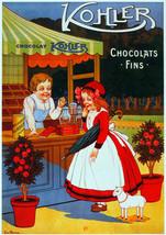 Chocolat Kholer Ad Decorative Nouveau Poster.Wall interior design.2952 - $11.30+