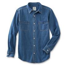 Levi's Men's Classic Long Sleeve Button Up Casual Denim Dress Shirt 3LMLW0983 image 3