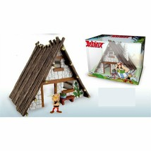Asterix House with 1 Asterix plastic figurine set Plastoy