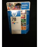 New Sealed Box Genuine OEM HP 78 C6578DN Tri-Color InkJet DeskJet 920 Oc... - $13.37