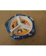 Playtex Baby Toddler Plate 8in x 1in Multi-Color Toy Story Plastic - $6.83