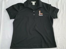 Nike Golf Dri-fit Coppertone Polo XL Black Mint - $15.20