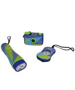 Discovery Kids 3-Piece Adventure Kit with Compass, Flashlight, and Binoc... - $31.85