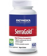 Enzymedica, SerraGold, Enzyme Supplement to Support (60 Servings) (FFP) - $95.75