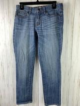 J Crew Women Jeans size 29 Mid Rise Waist Skinny Stretch Denim  - $15.10