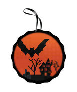 Spooky Bat Kit halloween cross stitch kit Colonial Needle  - $21.50 CAD