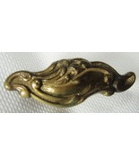 Vintage Art Nouveau Brass Drawer Pulls Victorian Dresser Knobs 6 - $28.00