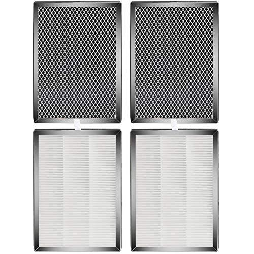 Fette Filter - MA-25 Air Purifier H13 True HEPA Filters Compatible with Medify M