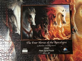Jigsaw Puzzle 1500 Pieces The Four Horses of the Apocalypse 24 x 33 inch image 8