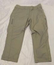 Chico's Olive Green Cotton Spandex Capri Pants Size 0 - $20.00