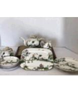 Royal Worchester Inc. Porcelain Tea Set-Asian Design - $150.00