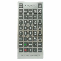 Innovage Products Jumbo Universal Remote 4 Device - CABLE, TV, VCR, DVD,... - $13.89
