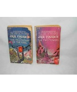 J R R Tolkien The Fellowship Of The Ring And The Two Towers Paperbacks - $24.11