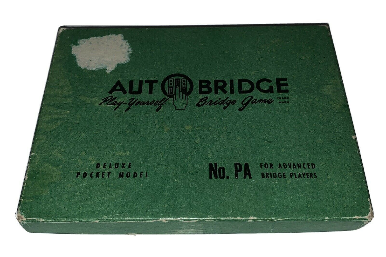 Primary image for VINTAGE AUTO BRIDGE NO. PA DELUXE POCKET MODEL GAME 1957