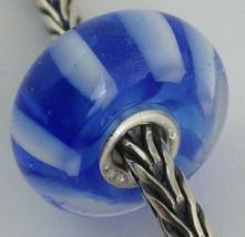 Authentic Trollbeads Ooak Murano Glass Unique Bead Charm #139, 15mm Diameter New - $21.60