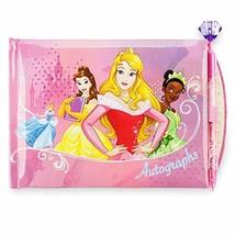 Disney Princess Autograph Book Featuring Cinderella, Belle, Aurora, Tiana, Jasmi - $14.90
