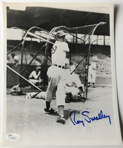 ROY SMALLEY JR. SIGNED 8X10 JSA COA PHOTO AUTOGRAPH 8X CHICAGO CUBS - $34.95