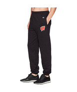 Champion College Wisconsin Badgers Eco Powerblend Banded Pants, Black, 2XL - $33.66