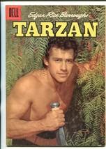 Tarzan #82-1956-DELL-GORDON Scott COVER- BURROUGHS- MARSH- MANNING-vg/fn - $50.44